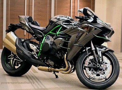 Kawasaki : Ninja KAWASAKI NINJA H2 super charged sport bike Rare street motorcycle