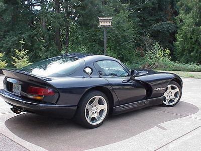 Dodge : Viper 2dr GTS Coupe 2001 dodge viper 2 dr gts coupe sapphire blue low mileage 20 000 non smoker