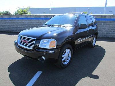 GMC : Envoy 4dr 4WD SLE 4 dr 4 wd sle suv automatic gasoline 4.2 l straight 6 cyl black
