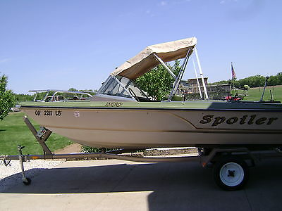 15 FT TRI-HULL BOAT..50 HP MERCURY MOTOR & 6 HP EVINRUDE MOTOR..GREAT CONDITION