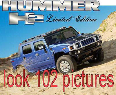 Hummer : H2 SUT HUMMER H2 SUT LTD 1 OF 875 44,000 MILES NO ACCIDENTS BUMPER TO BUMPER WARRANTY