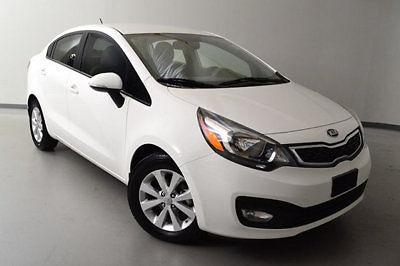 Kia : Rio Low Miles 4 dr Sedan Automatic Gasoline 1.6L 4 Cyl Clear White