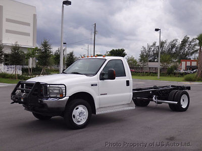 Ford : F-550 Cab and Chassis 4x4 2004 ford f 550 4 x 4 cab chassis low miles 6.0 l turbo diesel ambulance super duty
