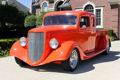 Ford : Other Pickups Extended Cab Frame Off Build! Extended Cab, GM Crate 350ci V8, TH350 Automatic, A/C & More!