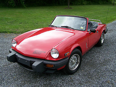 Triumph : Spitfire 1500 SUPER CLEAN 1979 - TWO OWNERS