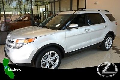 Ford : Explorer Limited Premium Sound Parking Sensors Backup Camera Leather Roof Rack Moon Roof
