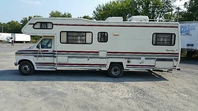 1987 USED CLASS C MOTORHOME LEPRECHAUN BY COACHMAN RV CAMPER 131K