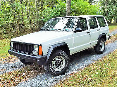 Jeep : Cherokee LOW MILES 1996 JEEP CHEROKEE SPORT 47,813 RARE ONE OWNER SUPER LOW MILES 1996 JEEP CHEROKEE SPORT 47,813 4.O LITER 4X4
