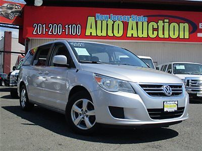 Volkswagen : Routan 4dr Wagon SE w/RSE / Navigation 4 dr wagon se w rse navigation volkswagen routan se leather sunroof navigation