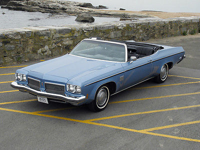 Oldsmobile : Eighty-Eight Delta 88 Royal Convertible 1973 oldsmobile delta 88 royale convertible gorgeous