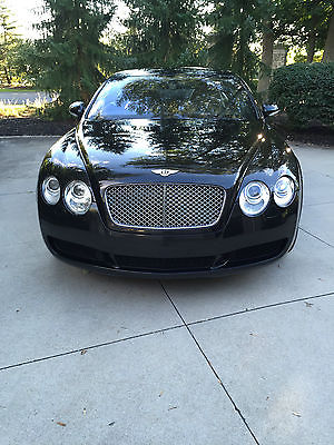 Bentley : Continental GT GT Coupe 2-Door 2005 bentley continental gt coupe 2 door 6.0 l diamond black