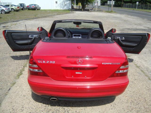 Mercedes-Benz : SLK-Class SLK230 Kompressor Roadster Convertible Mercedes SLK230 Kompressor Sport Roadster Convertible Automatic Bose AMG Wheels
