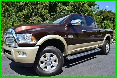 Ram : 2500 Longhorn CREW 4X4 $10000 OFF MSRP! WE FINANCE! 6.7 l convenience group anti spin keyless go power sunroof chrome side steps