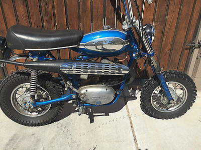 Indian : Bobcat Indian Bobcat, Very rare 1971 Bobcat 100, Morini Franco motor, all original