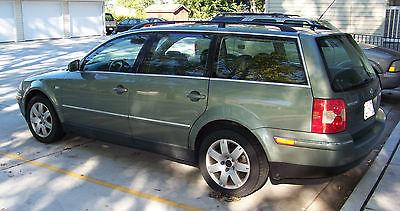 Volkswagen : Passat GLX 4 Motion Wagon 4-Door 2002 volkswagen passat wagon glx awd 2.8 v 6 248 k miles 180 k on 03 engine