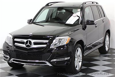 Mercedes-Benz : GLK-Class CERTIFIED GLK350 4MATIC AWD SUV CAMERA / NAVIGATIO AWD CERTIFIED 2015 9k miles FULL SIZE NAVIGATION back-up camera KEYLESS GO black