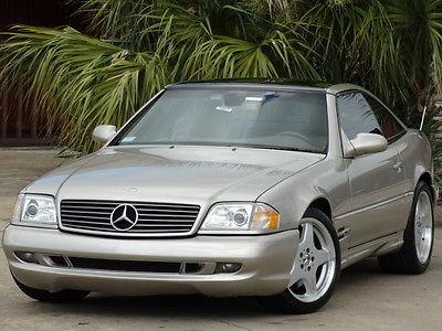 Mercedes-Benz : SL-Class AMG SPORT PKG 1999 mercedes benz sl 500 amg sport pkg convertible hard top navigation low mile