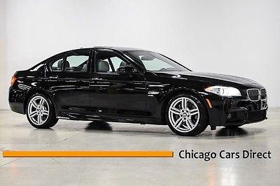 BMW : 5-Series 550i xDrive 11 550 i xdrive m sport rare low miles night vision premium 2 head up gps 19 il