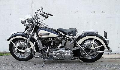 Harley-Davidson : Other 1949 harley davidson panhead el elp springer