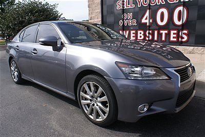 Lexus : GS 4dr Sedan AWD 2013 lexus gs 350 awd nav back up cam heated cooled seats sunroof sunshade