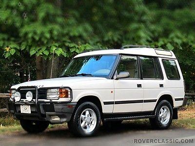 Land Rover : Discovery SE7 1996 land rover range rover se 7 96 485 original miles 7 passenger