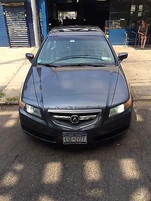 Acura : TL TL 2006 acura tl gray on black 114 k miles navigation fs by owner nyc bitcoin accept