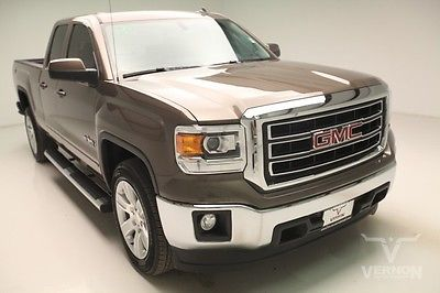 GMC : Sierra 1500 SLE Texas Edition Crew Cab 2WD 2014 navigation tan cloth rear camera used preowned we finance 9 k miles