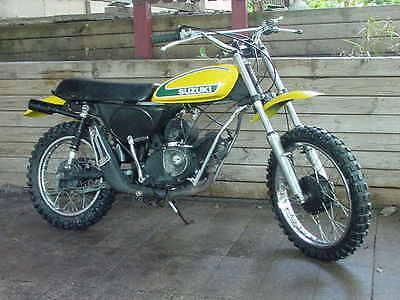 Suzuki : Other SUZUKI TM 75 TM75 RM CR XR VINTAGE MOTORCYCLE MX 125 250 MINI