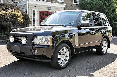 Land Rover : Range Rover HSE Sport Utility 4-Door 2006 land rover range rover hse sport utility 4 door 4.4 l v 8 4 wd nav