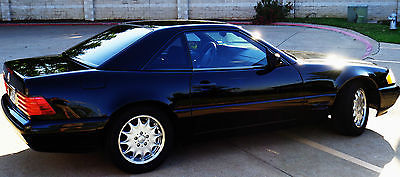 Mercedes-Benz : SL-Class Black interior/exterior, leather, very good condition, convertible