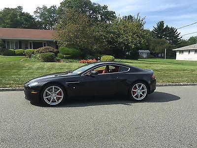 Aston Martin : Vantage Vantage 19 Inch Wheels 6 Speed 2007 aston martin vantage v 8 nero daytona ferrari red fox obsidian black 9 k mi