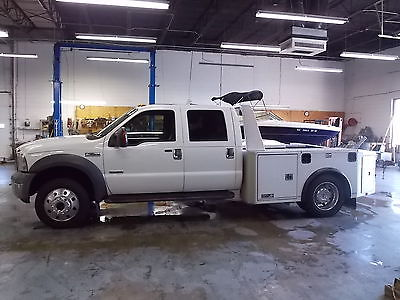 Ford : Other Pickups Lariat Cab & Chassis 4-Door 2005 ford f 550 super duty lariat crew cab hauler bed 4 x 4