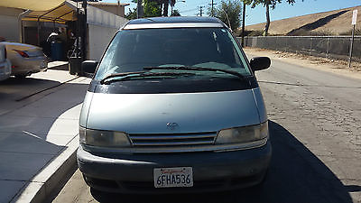 Toyota : Previa LE Mini Passenger Van 3-Door 1995 toyota previa dual sunroof 4 captain chairs