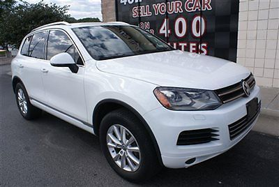 Volkswagen : Touareg 4dr VR6 Exec 2013 volkswagen touareg awd vr 6 exec leather heated seats hd radio touchscreen