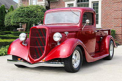 Ford : Other Pickups Street Rod Gorgeous Pickup! 350ci V8, TH350 Automatic, Steel Body, Power Disc, Custom Int.