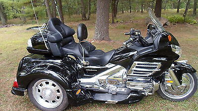 Honda : Gold Wing 2008 honda goldwing 1800 trike black