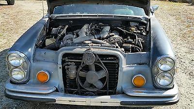 Mercedes-Benz : 300-Series SEL 6.3 1969 mercedes 300 sel 6.3 m 100 runs and drives former tx car easy restoration