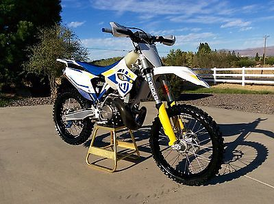 Husqvarna : TC250 Two Stroke  2014 husqvarna tc 250 two stroke desert race ready dirt bike many pricey upgrades