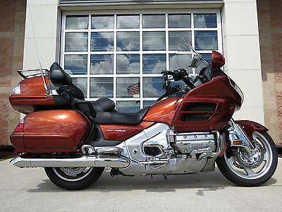 Honda : Gold Wing 2007 honda gl 1800 gold wing audio comfort 1832 cc motor 6 spd runs looks great