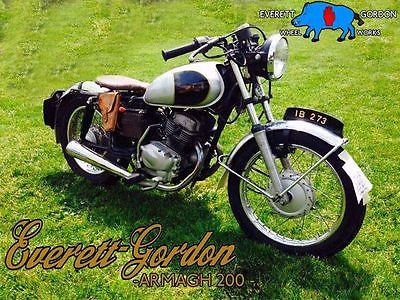 Custom Built Motorcycles : Other prewar 1930's replica retro-mod board tracker british golden age classic