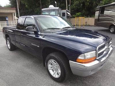 Dodge : Dakota SLT 2001 gorgeous dakota club cab slt pick up 1 owner runs looks great warranty