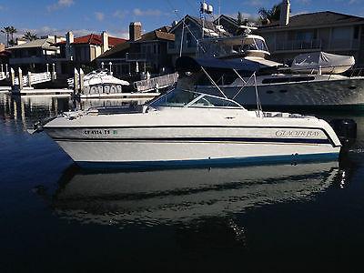 22' Glacier Bay Power Catamaran, '03, Twin 4 Stroke Merury Outboards, 115 HP