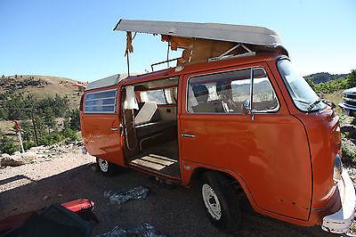 Volkswagen : Bus/Vanagon Westfalia  1973 volkswagen westfalia pop top camper bus kombi