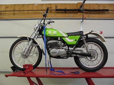 Kawasaki : Other 1976 kawasaki kt 250 trials all original