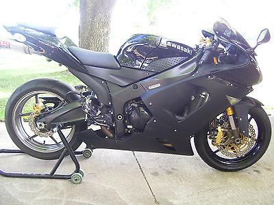 Kawasaki : Ninja 2005 zx 6 r 636