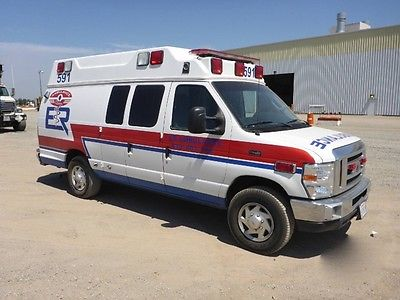 2011 Ford E350 Ambulance 5.7L V10 Automatic 128k Miles