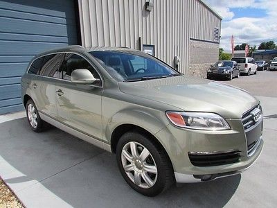 Audi : Q7 4.2 Quattro Premium Pkg AWD SUV Navigation 2007 audi q 7 4.2 l 3 rd row nav sunroof leather bluetooth 07 4 wd 4 x 4 knoxville tn