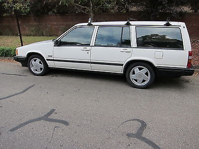 Volvo : 740 TURBO GLE 1990 volvo 740 turbo wagon 4 door 2.3 l 5 speed transmission