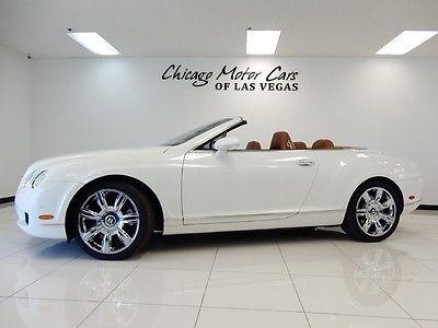 Bentley : Continental GT 2dr Convertible 2007 bentley continental gtc convertible 20 alloy sport wheels lumbar massage