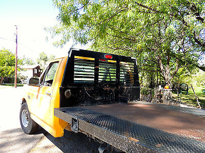 Ford : F-250 Base Standard Cab Pickup 2-Door 1997 orange flatbed ford 250 truck 460 engine